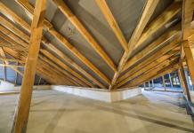 Konstrukcja z belek stropowych